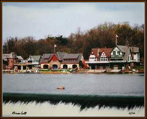 Boathouse Row/Day